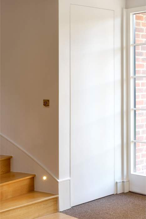 Invisibledoors® - Frameless Cupboard - CONCEALED Hinge