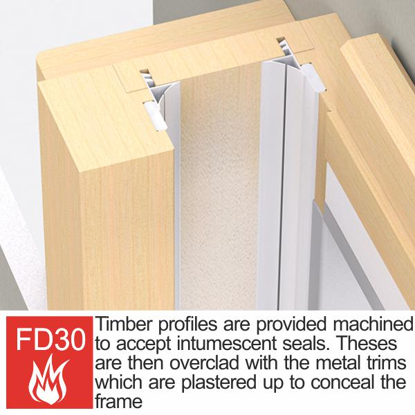 Timber Jambs Profiles FD30 Enigma